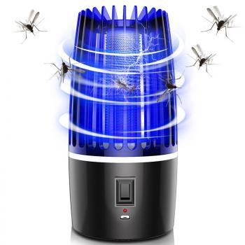 Đèn bắt muỗi sạc pin thông minh nhật bản